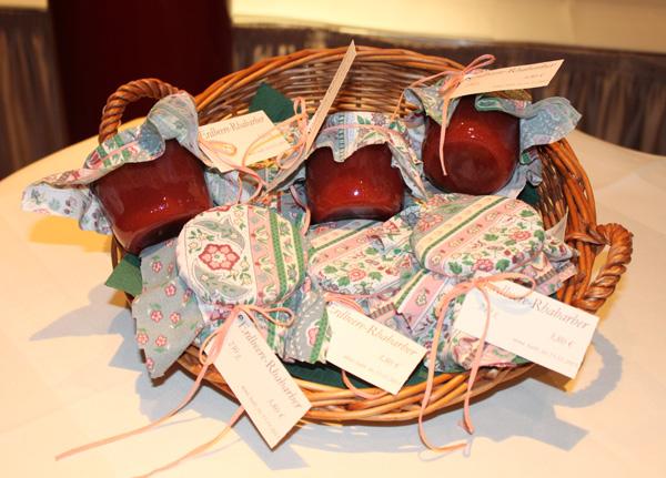 Selbstgemachte Marmelade aus dem Akzent Hotel Deutsche Eiche Uelzen