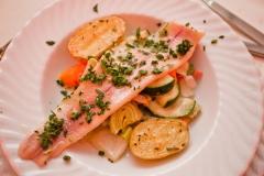 Fischgericht - Catering von Hotel Deutsche Eiche Uelzen