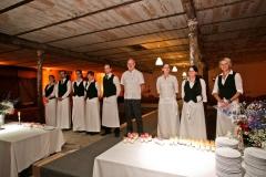 Das Catering-Team vom Hotel Deutsche Eiche Uelzen