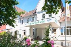 Eingang Akzent Hotel Deutsche Eiche-Uelzen