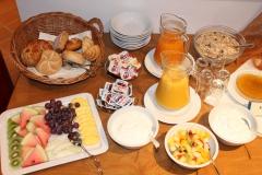 Frühstücksbuffet im Hotel Deutsche Eiche Uelzen