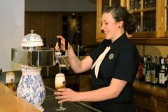 Ausschank im Restaurant Veerßer Stube im Hotel Deutsche Eiche Uelzen