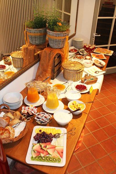 Sonntagsfrühstück im Akzent Hotel Deutsche Eiche in Uelzen