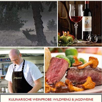Hotel Deutsche Eiche Uelzen - jagdliche Weinprobe