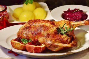 Hotel Deutsche Eiche Uelzen - Weihnachtskarte - Weihnachtsbuffet
